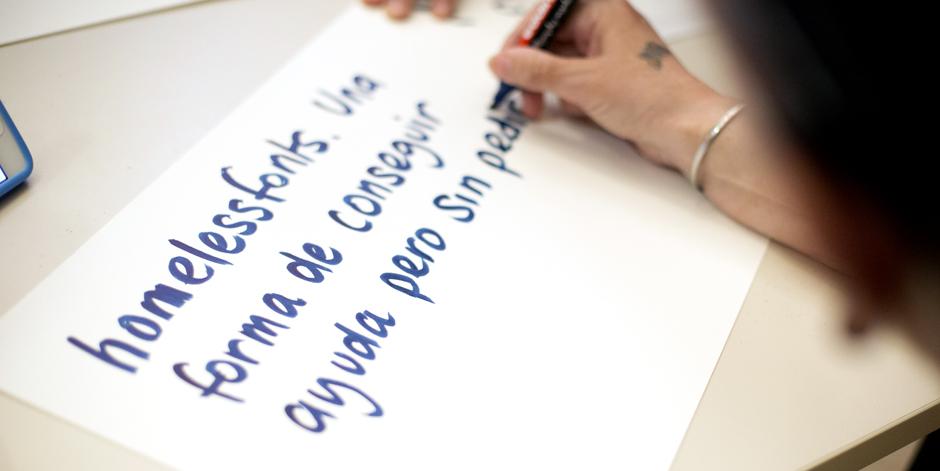 Monotype, empresa líder internacional de tipografies, se suma al projecte HomelessFonts.org