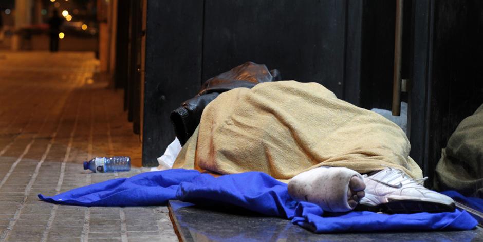 Creix en un 32,1% el nombre de persones sense llar a Barcelona