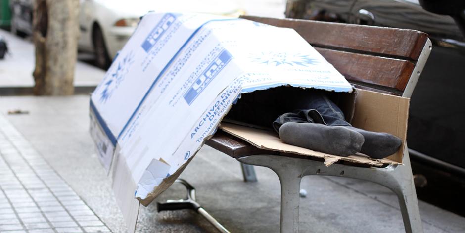 Augmenta el nombre de persones sense llar ateses a tot Espanya