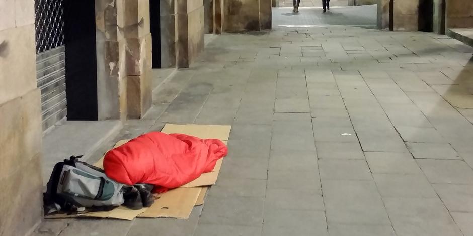Piula #27Sningudormintalcarrer perquè els polítics tinguin en compte les persones sense llar!
