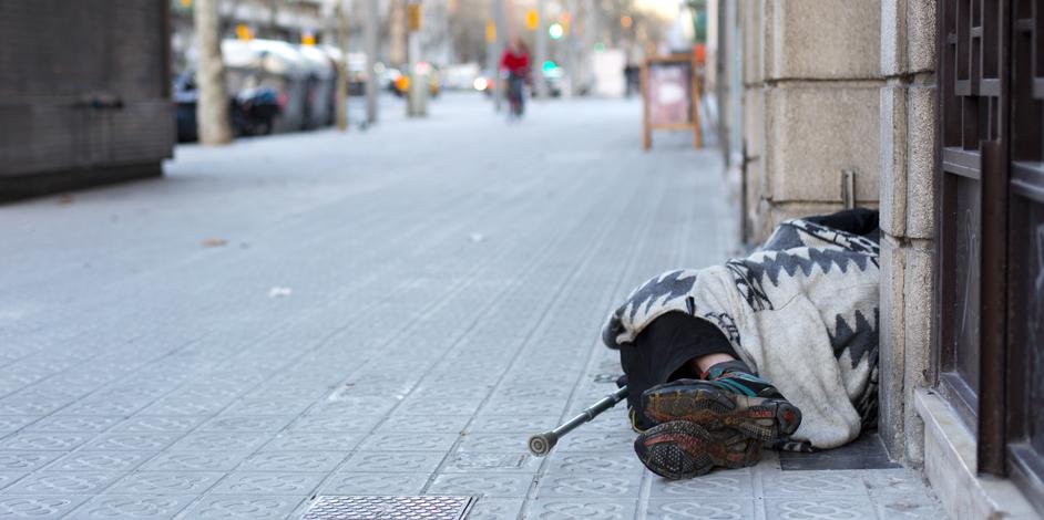 Dormir al carrer a Catalunya