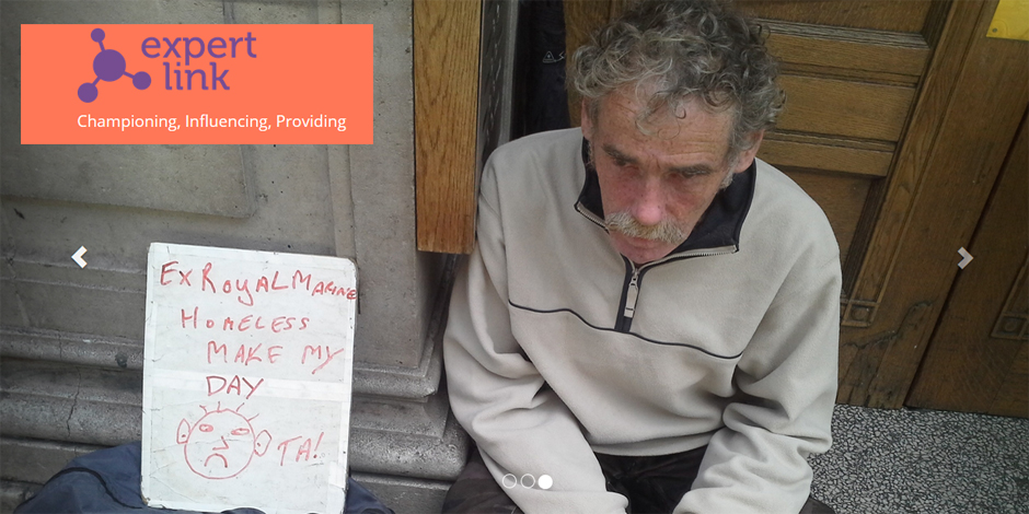 Expert Link: escoltar les persones sense llar per millorar