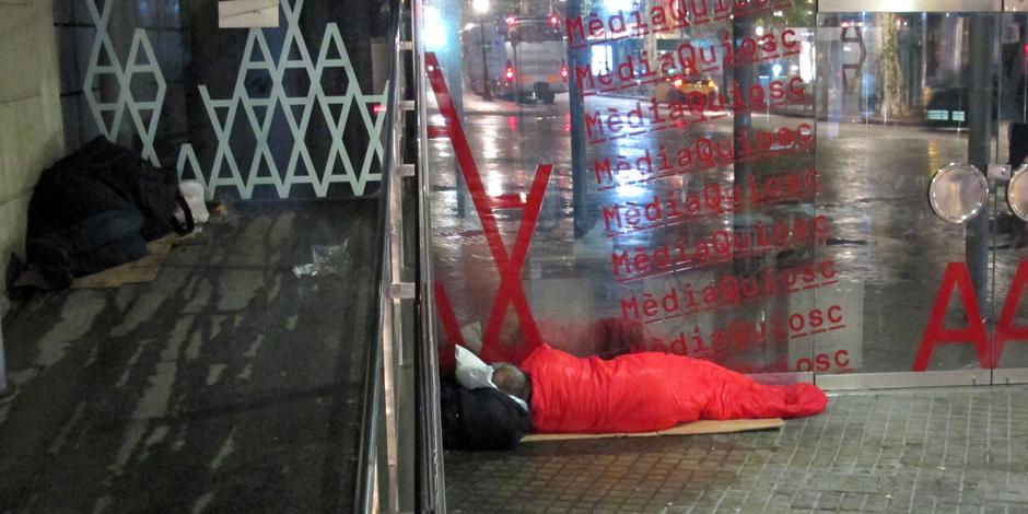 El cens de persones sense llar, part de la campanya europea per posar fi al sensellarisme