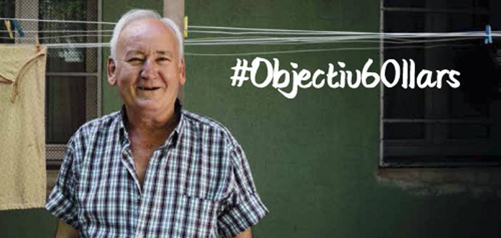 Suma't a la campanya #Objectiu60llars