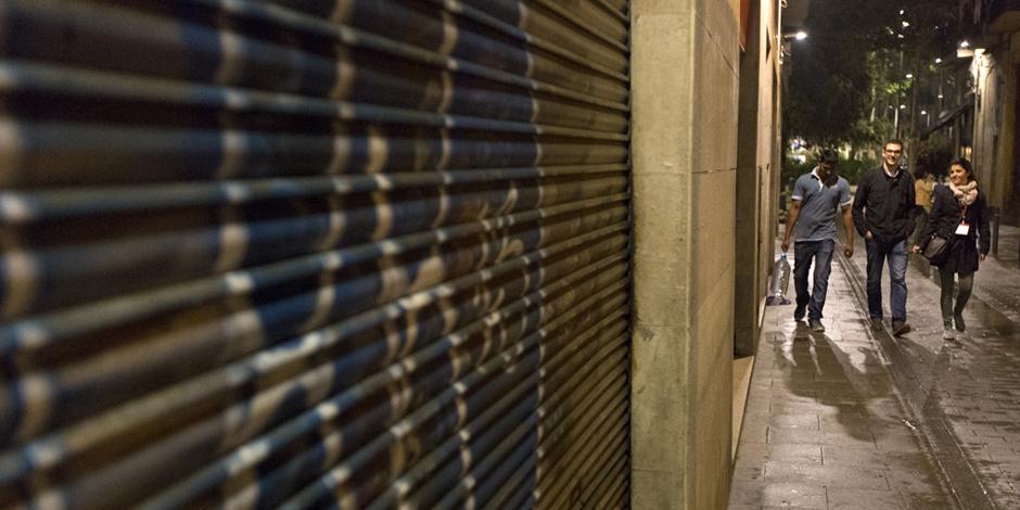 Los recuentos en Barcelona, Sant Adrià, Badalona y Lleida evidencian que unas 1.100 personas duermen en la calle