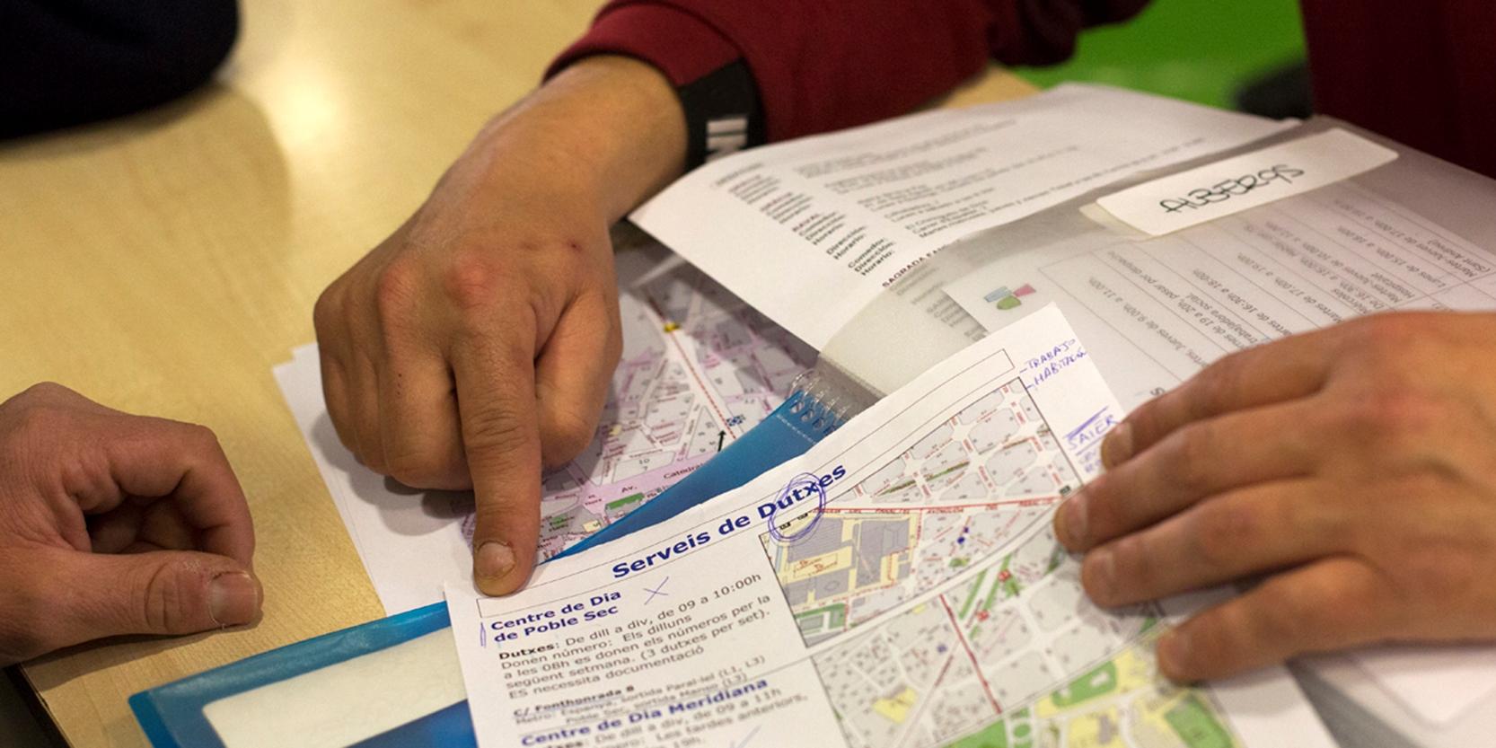 1.183 persones sense llar que no troben resposta a Barcelona