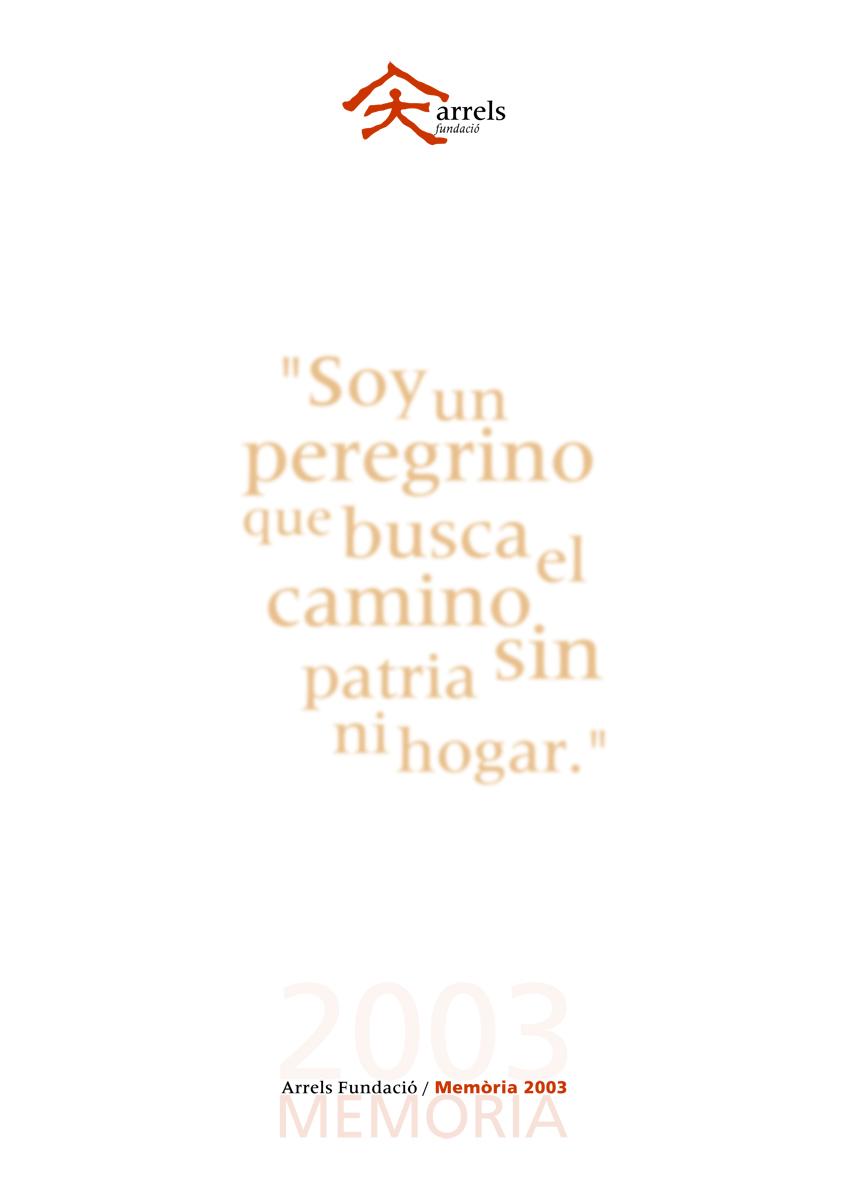 Memòria d'Arrels 2003