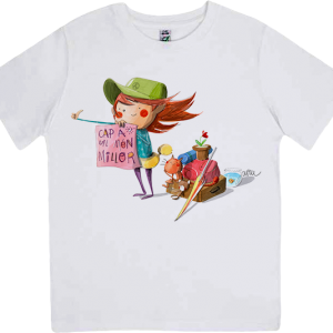 Samarreta infantil il·lustrada per Joan Turu
